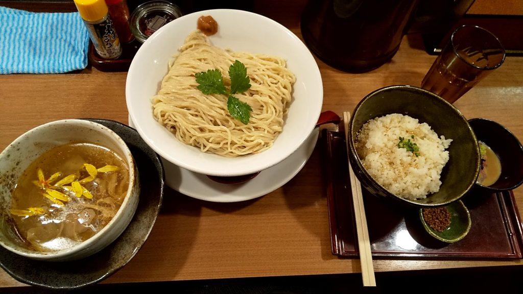 鯛塩そば灯花の宇和島つけ麺セット