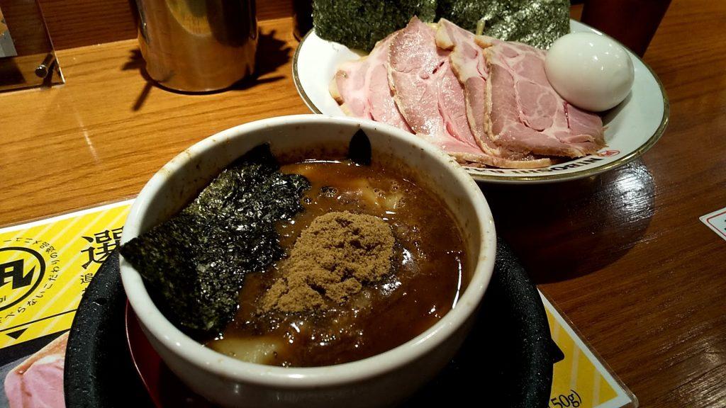 煮干しつけ麺ラーメン凪の特製濃厚煮干しつけ麺