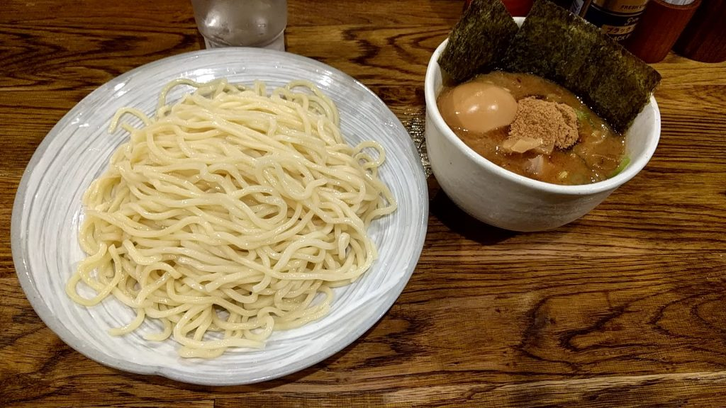 風雲児の特製つけ麺