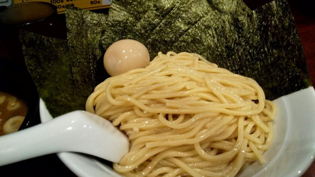 大勝軒まるいち渋谷店のつけ麺の麺
