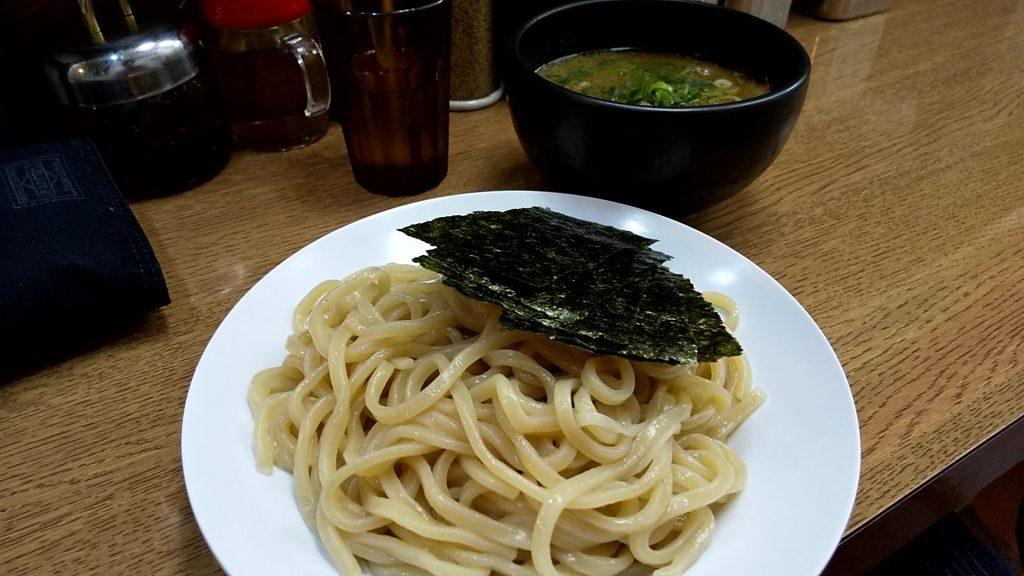 龍天の魚介つけ麺