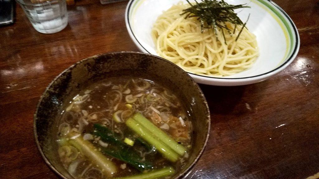 ラハメンヤマンのつけ麺