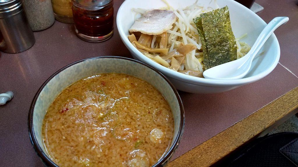 ハッスルラーメン錦糸町店のハッスル特製つけ麺
