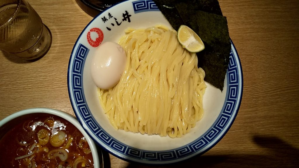 銀座いし井下北沢店の南蛮せいろの麺皿