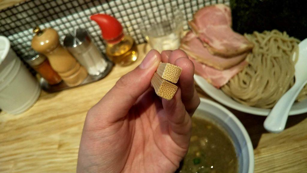らーめん改の箸