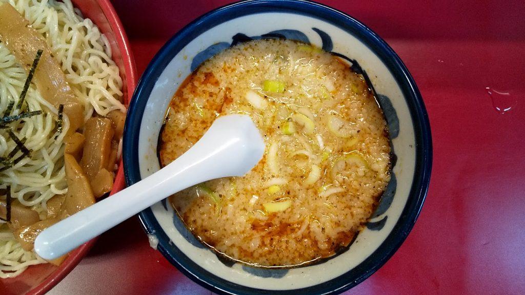 弁慶のさっぱりつけ麺のつけ汁