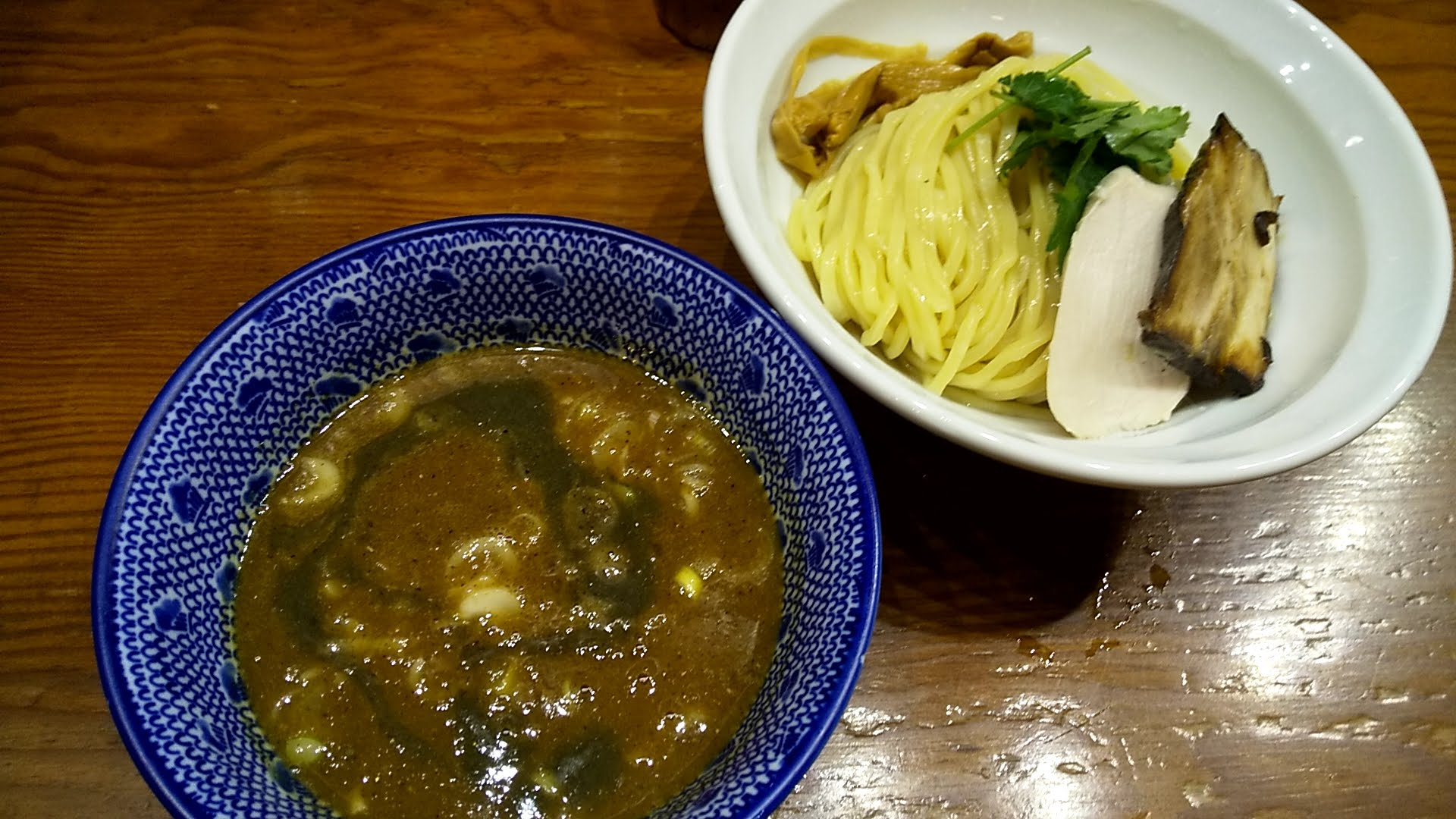 麺や百日紅の濃厚平子煮干しつけ麺