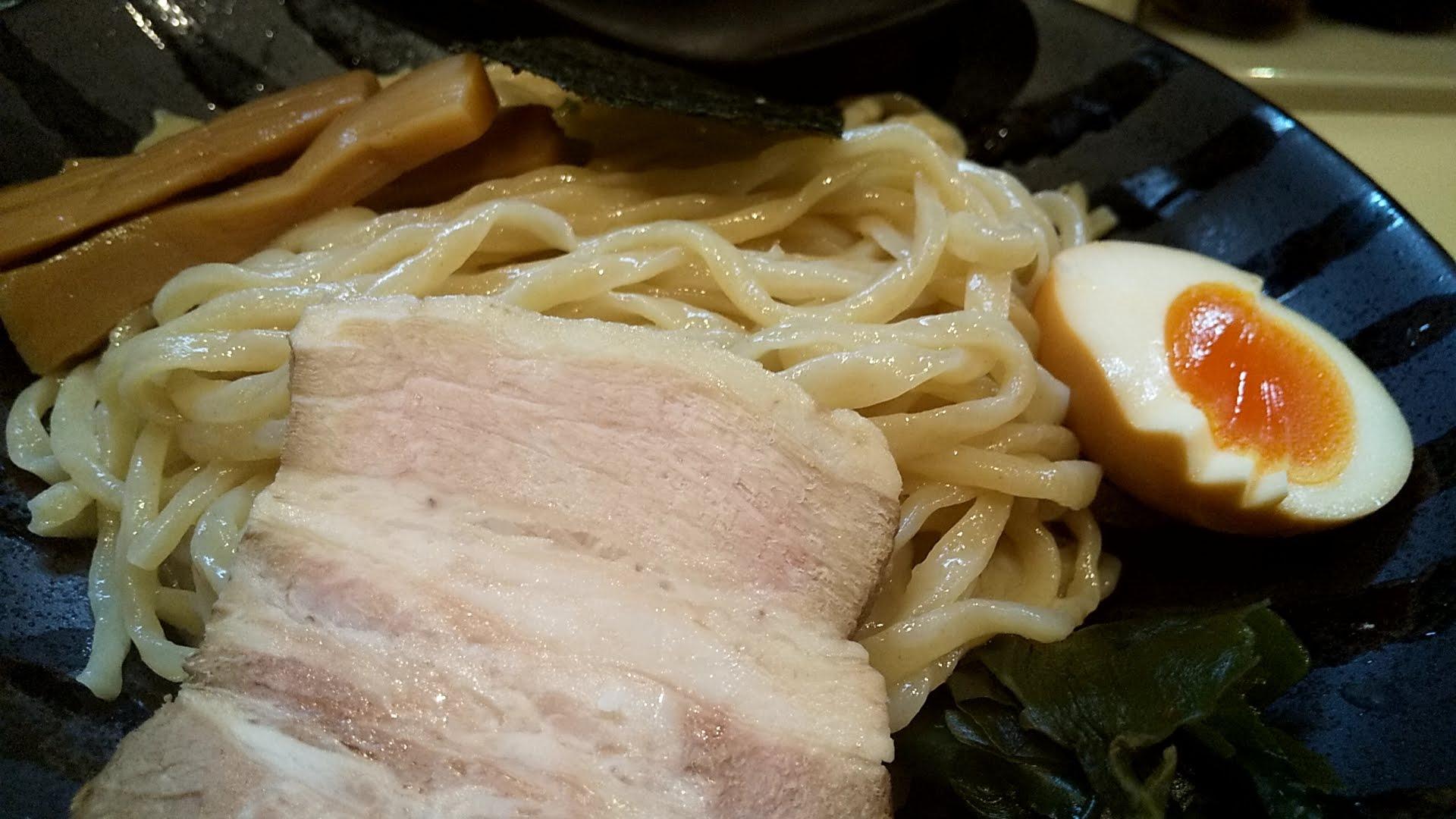 鶏豚の特製つけ麺のチャーシュー