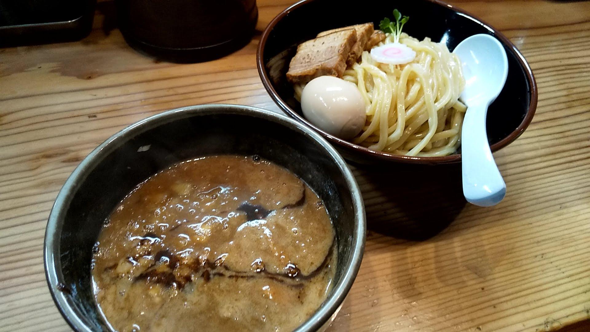 朧月の特製つけ麺