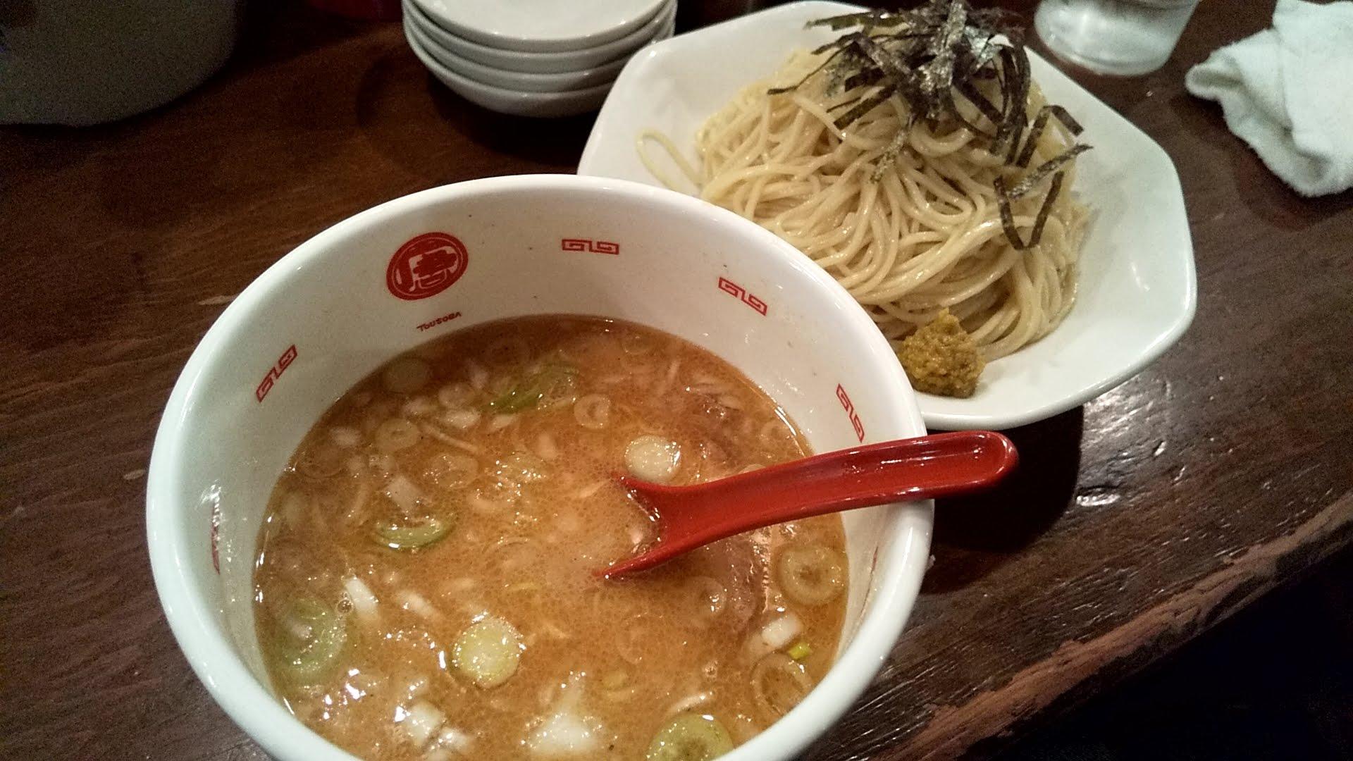 唐そばのつけ麺