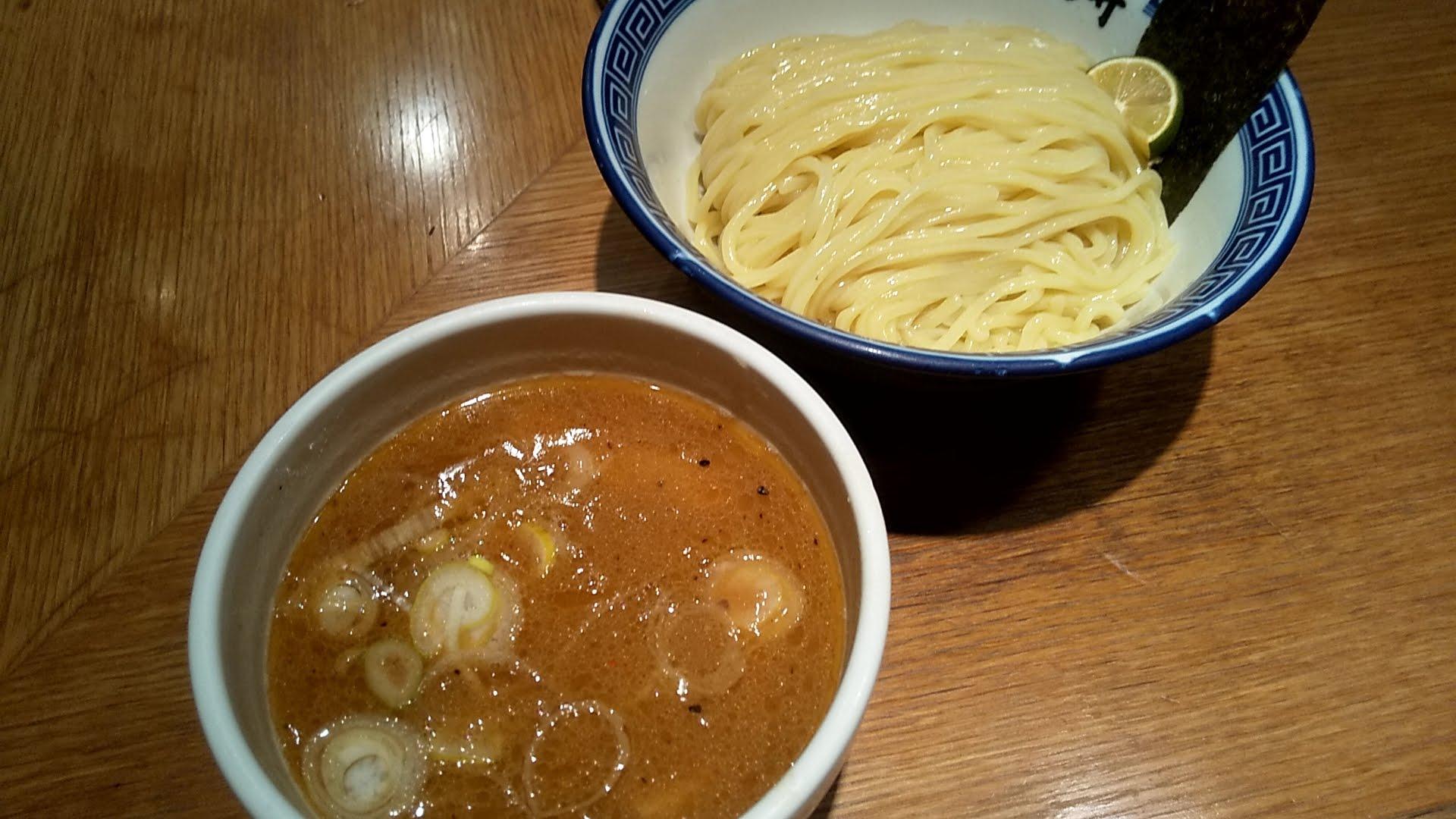 銀座いし井下北沢店のつけ麺
