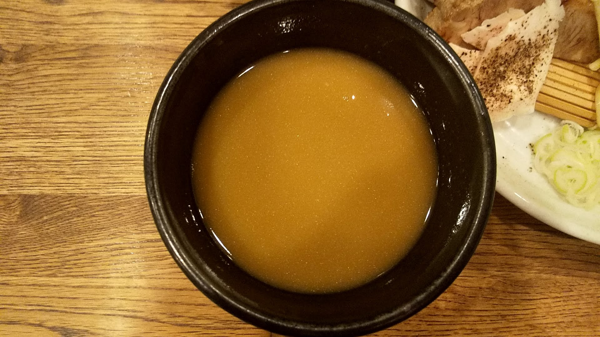 麺屋すみすのつけ麺のつけ汁