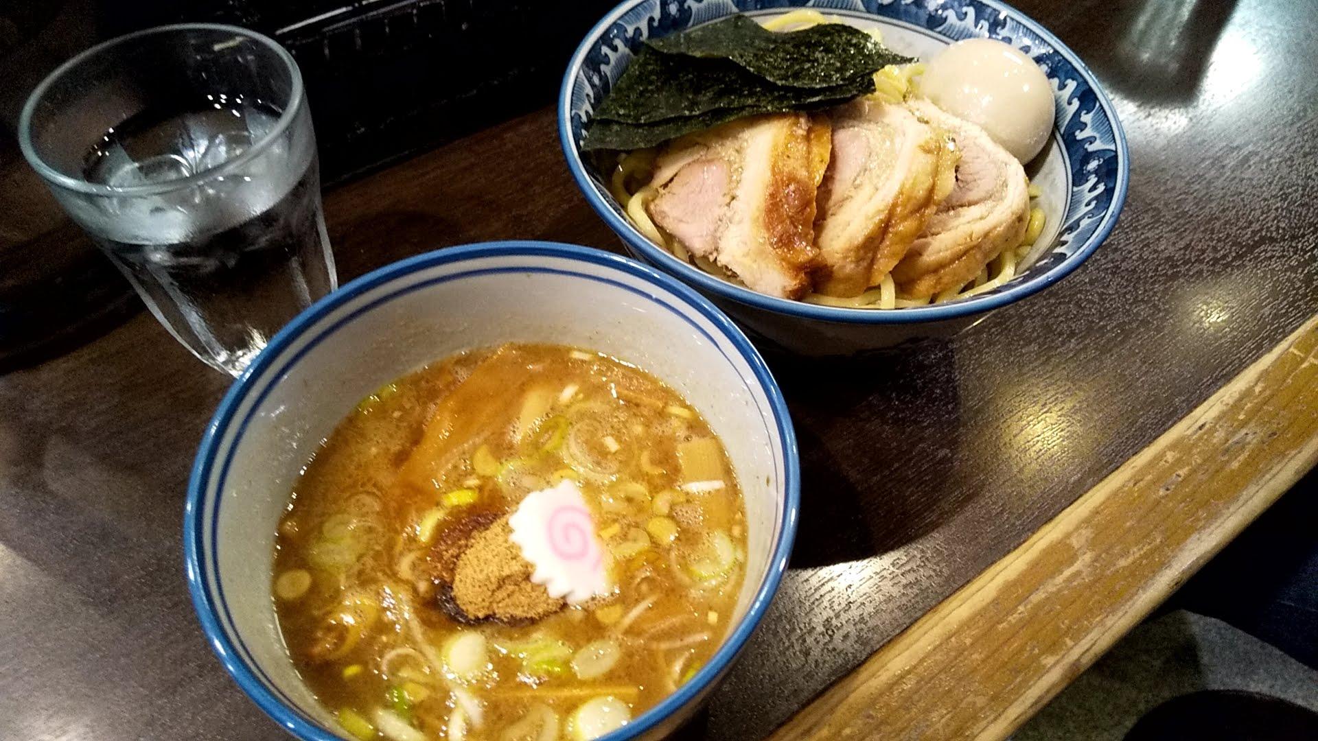 わた井の特製つけ麺