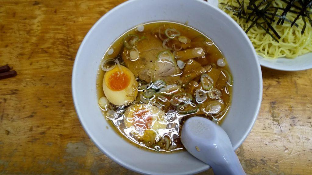 太陽のつけ麺のつけ汁