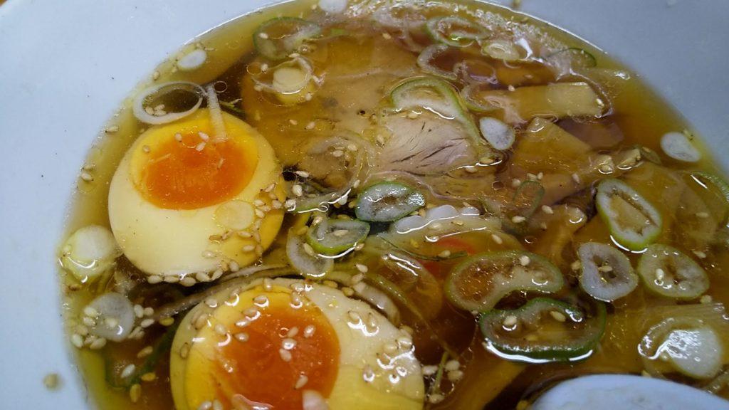太陽のつけ麺のつけ汁アップ