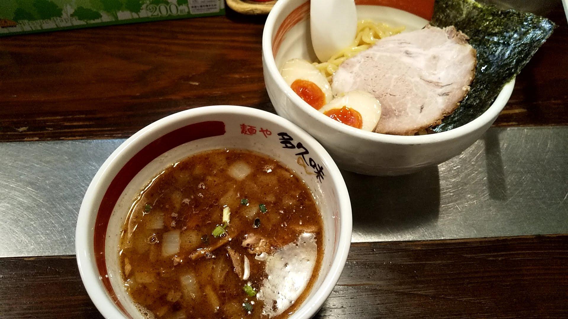 多久味のつけ麺