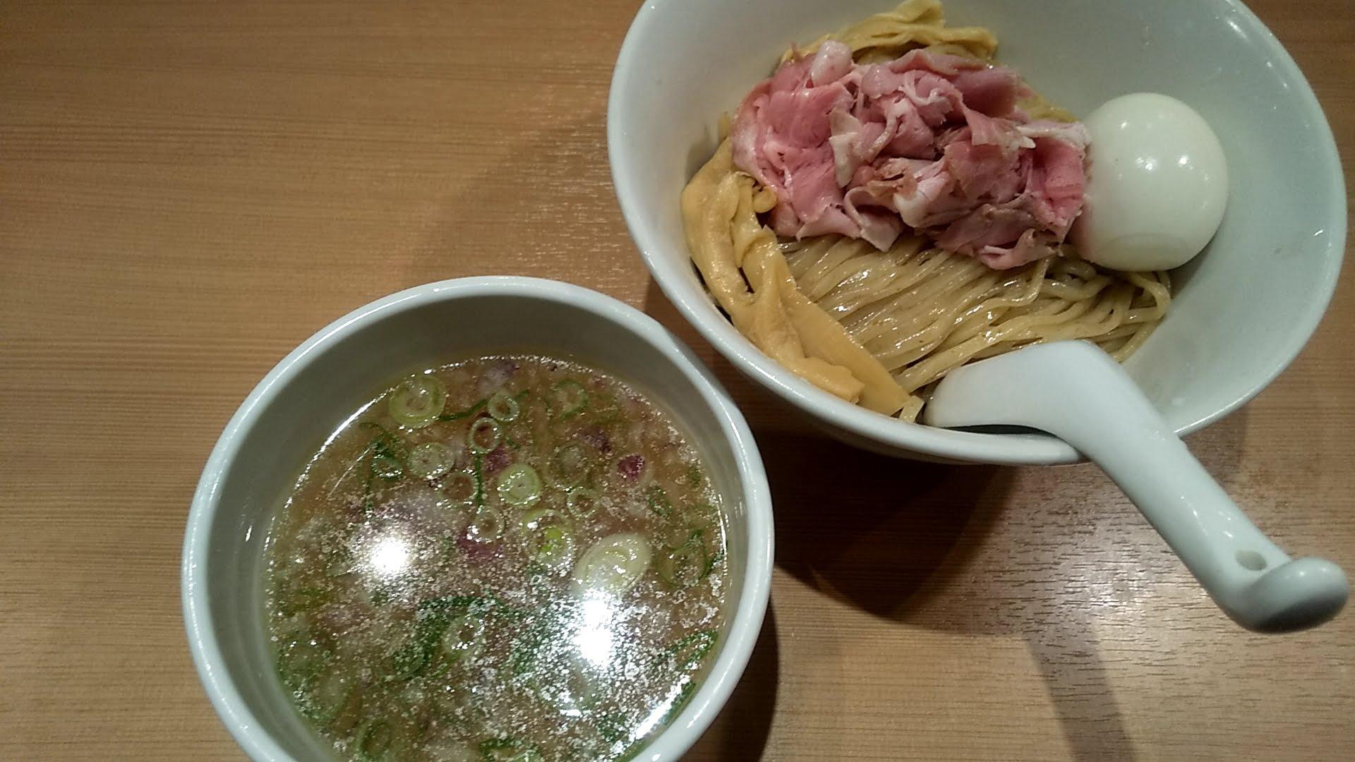 鳳仙花の特製つけ麺