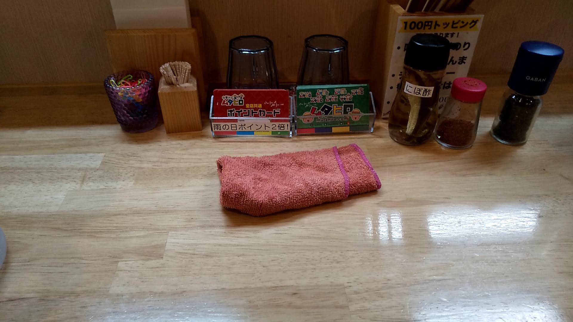ムタヒロ錦糸町店の卓上