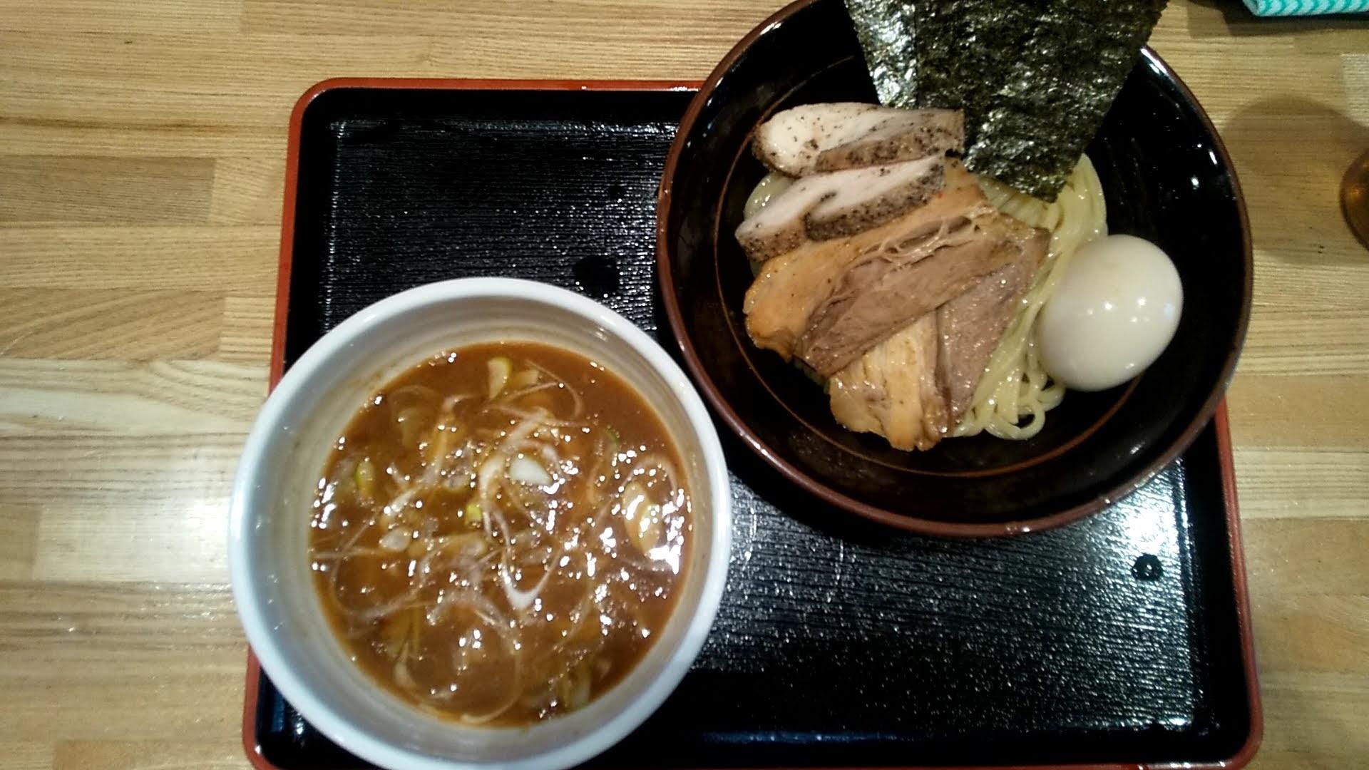 麺屋睡蓮の特製つけ麺