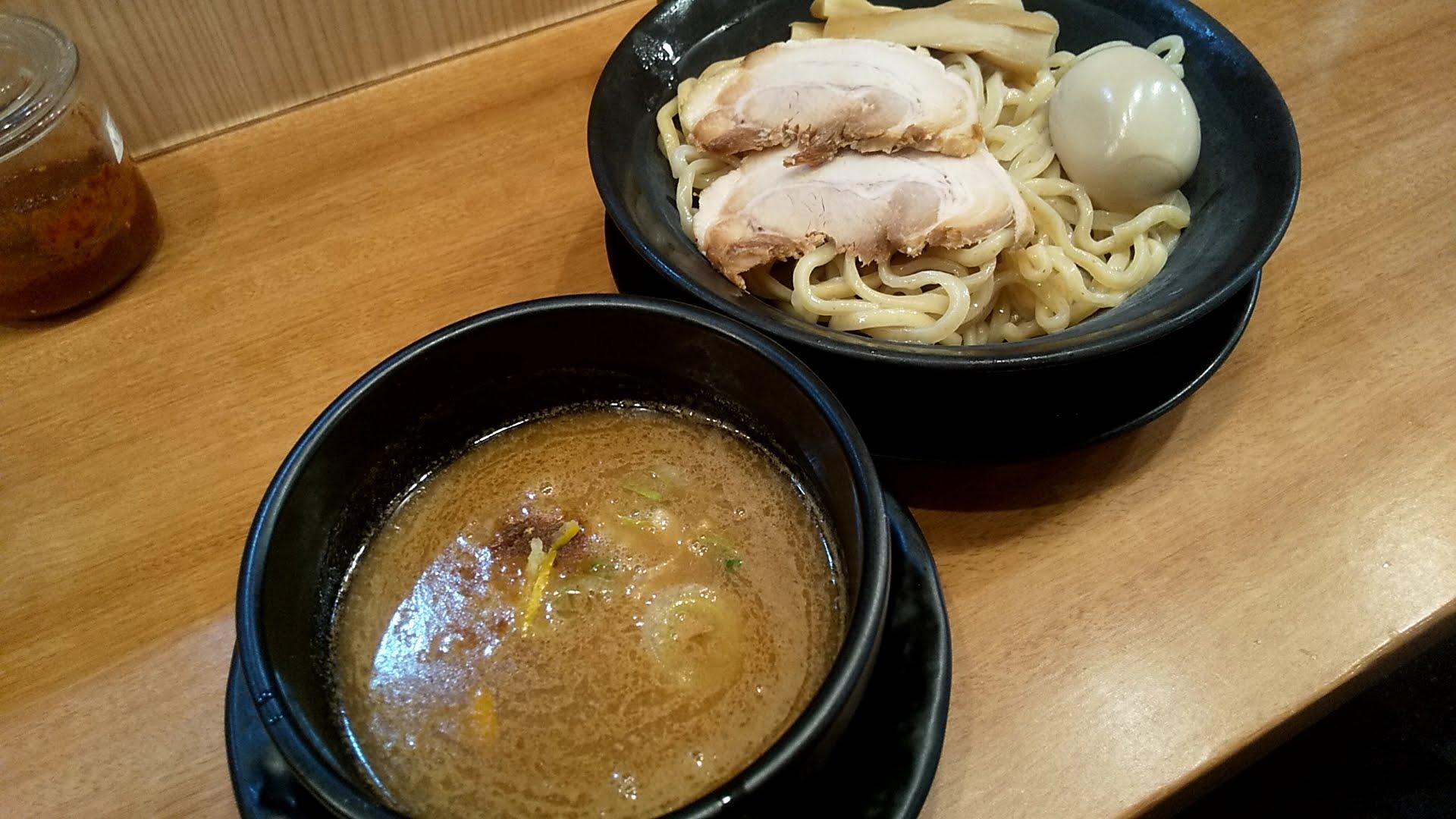 浅草家の魚介つけ麺SP