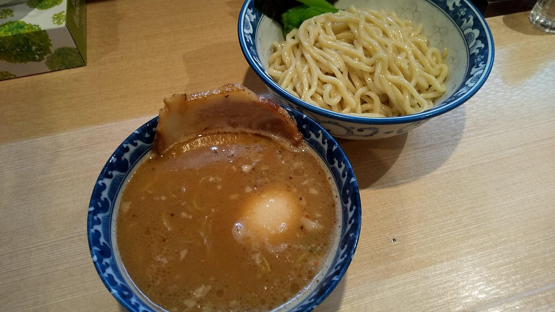 ラーメン雷鳥の4号つけ麺