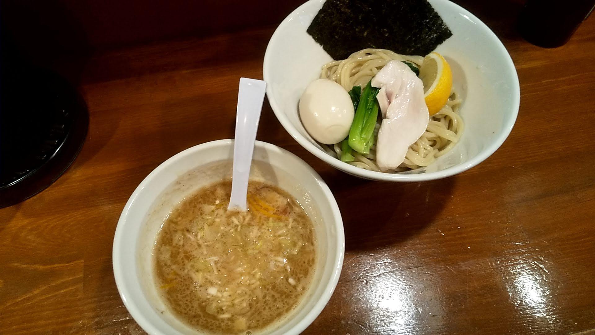 TOKUの鶏塩つけ麺