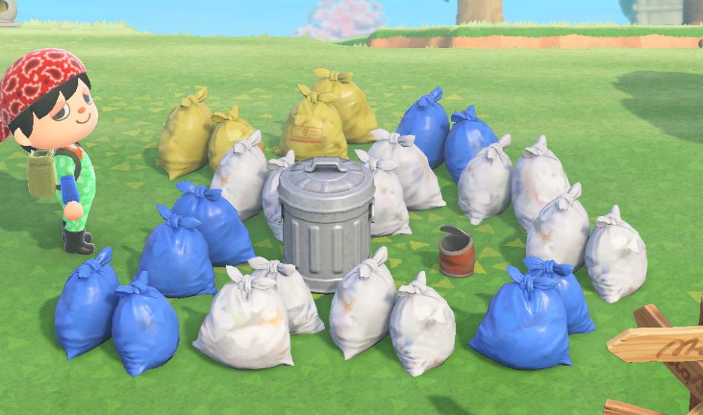 ゴミ あつ 場 森 捨て